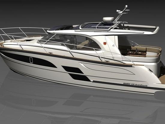Marex 330 Scandinavia erster Blick: Dieser vielseitige Cruiser kann so exponiert oder geschützt sein, wie Sie wollen