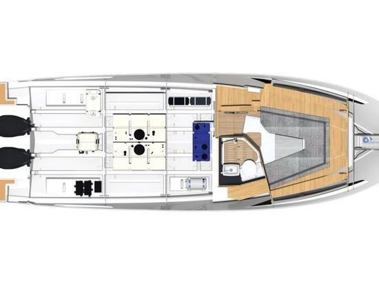 Bavaria Vida 33 erster Blick: Deutscher Riese erweitert sein Angebot um ein außenbordgetriebenes Dayboat