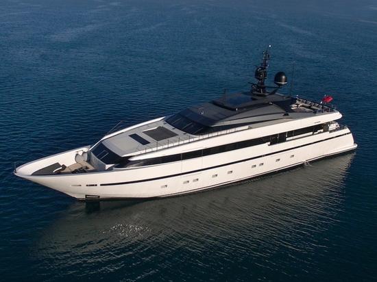 40m Sanlorenzo-Yacht Asteri ist auf dem Markt