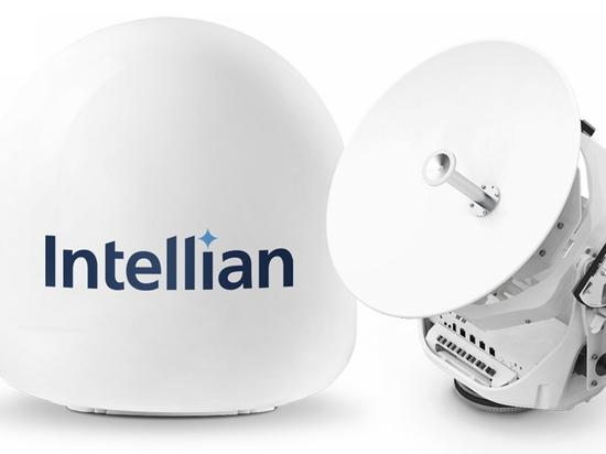 Intellians innovative neue v45C-Antenne bringt VSAT auf kleinere Schiffe