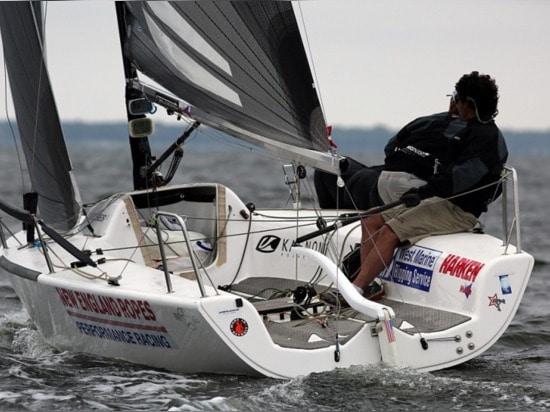 Bora Gulari nahm einen Bruch von der Ausbildung, mit Amerikas Schalenherausforderer Luna Rossa, zum in der Melges 24 zu konkurrieren Staatsangehörig-Meisterschaft.