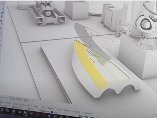 3D-Modellierung der vielschichtigen Schichten des Produkts, noch aus dem Video