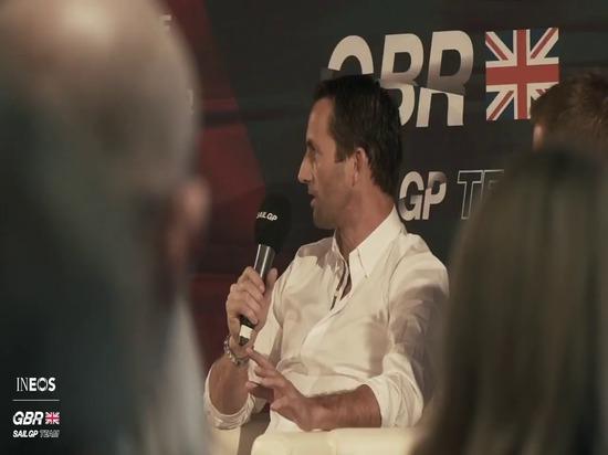 BEN AINSLIE'S INEOS TEAM UK SCHLIEßT SICH DEM GROßEN BRITISCHEN SAILGP TEAM AN