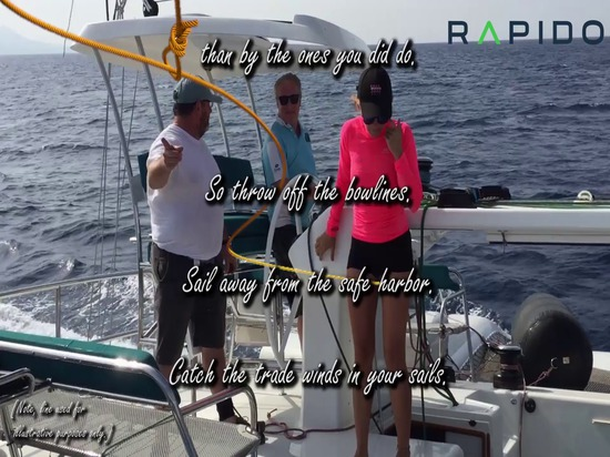 Werfen Sie die Bugleinen ab und segeln Sie mit einem Rapido Trimaran davon!