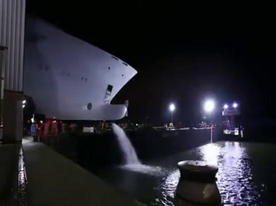 Video: Sehen Sie den Bau der Feadship-Superyacht Boardwalk im Zeitraffer