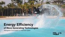Wavegarden Energy Efficiency