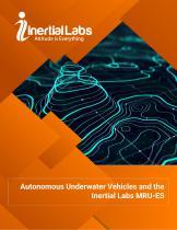Autonomous Underwater Vehicles and the Inertial Labs MRU-ES