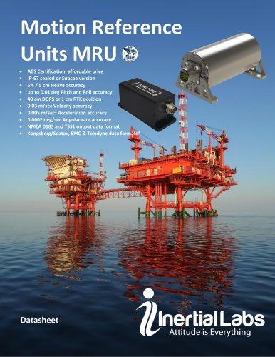 MRU: Motion Reference Units