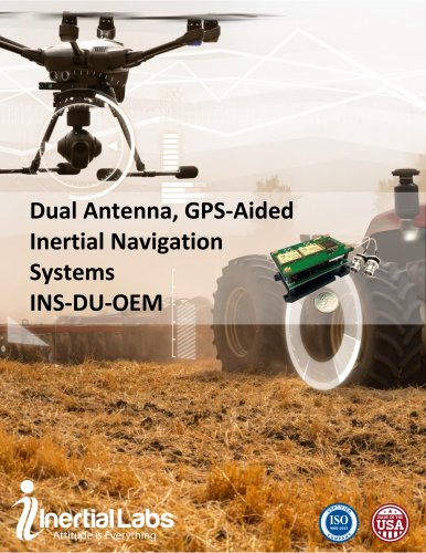 OEM Version of Dual Antenna GPS-Aided Inertial Navigation System INS-DU-OEM
