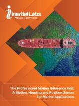 The Professional Motion Reference Unit: A Motion, Heading and Position Sensor for Marine Applications