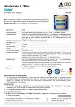 TDB FAKO-CBG 9119XTRA Glasvlieskleber