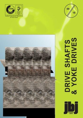Drive shafts and yoke drives