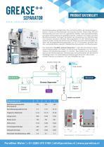 Grease Separator++ Produkt Datenblatt
