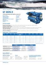 12 M26.3 Propulsion Engine
