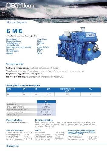 6 M16 Propulsion Engine