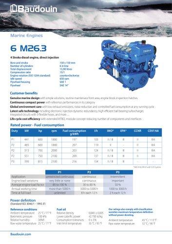 6 M26.3 Propulsion Engine