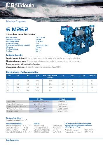 6M26.2 Propulsion Engine