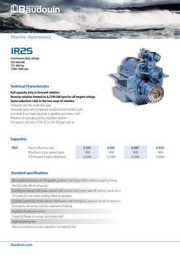 IR2S Gearbox