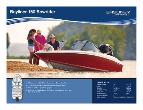 160 Bowrider