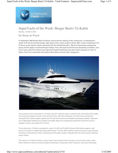 To-Kalon on Superyacht Times