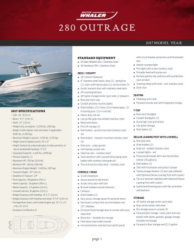 280 OUTRAGE
