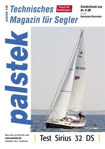 Sirius 32 DS Sonderdruck Palstek Magazin