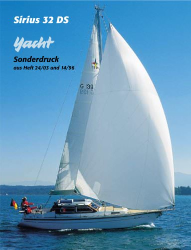 Sirius 32 DS Yacht Test