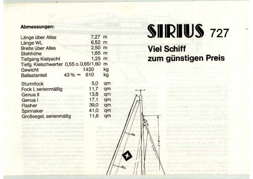 Sirius 727
