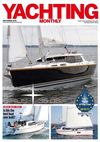 Yachting Monthly Test Sirius 35 DS