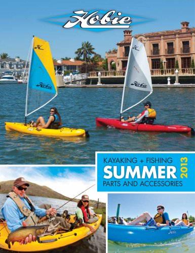 2013 summer kayaking fishing catalog international