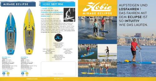 Hobie Mirage Eclipse Quad fold Brochure