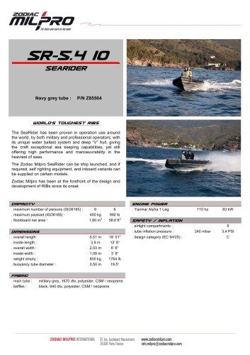 SR-5.4 IO DIESEL with engine