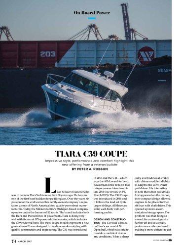 Tiara C39 Coupe