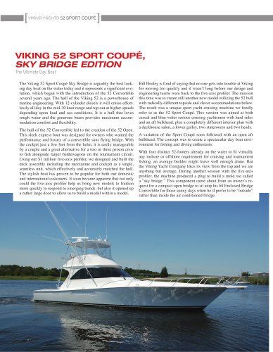 The Viking 52 Sport Coupe