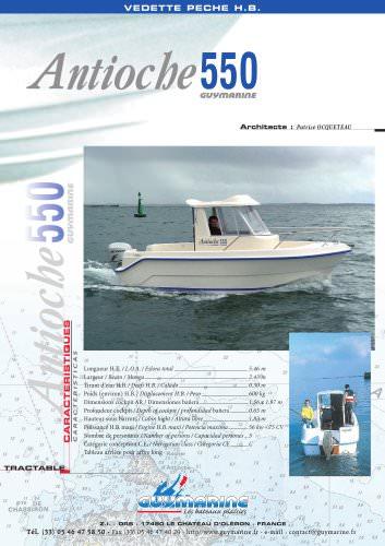 Antioche 550 - 1