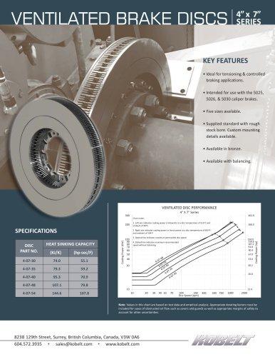 Ventilated Brake Discs
