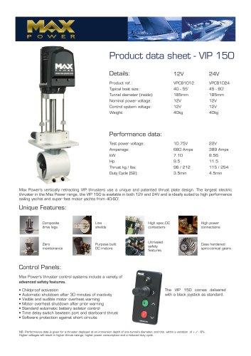 VIP150-Product-Data-Sheet