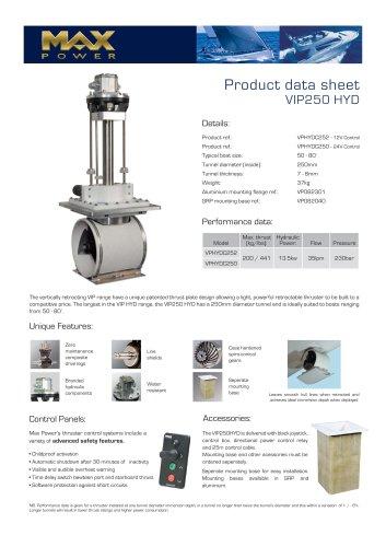 VIP250HYD-Product-Data-Sheet