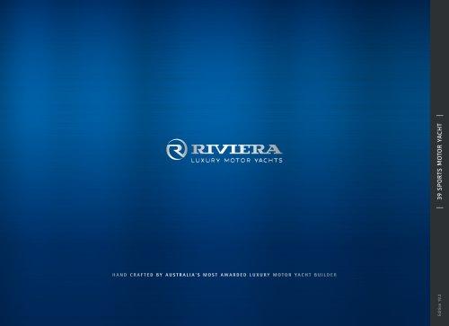 Riviera 39 Open Flybridge