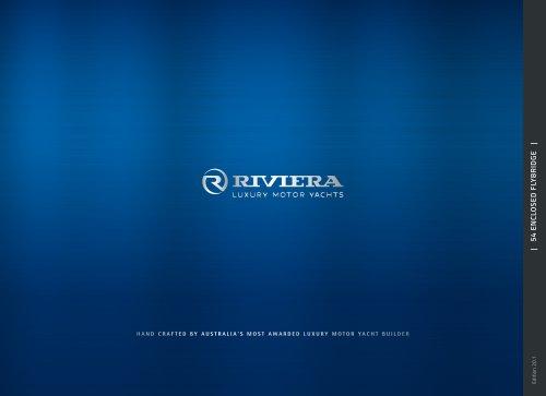 Riviera 54 Enclosed Flybridge