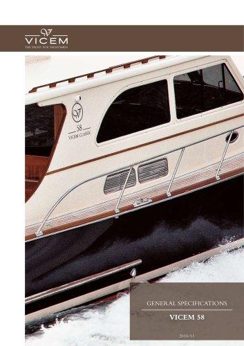 VICEM 58 Classic: Classic | Flybridge