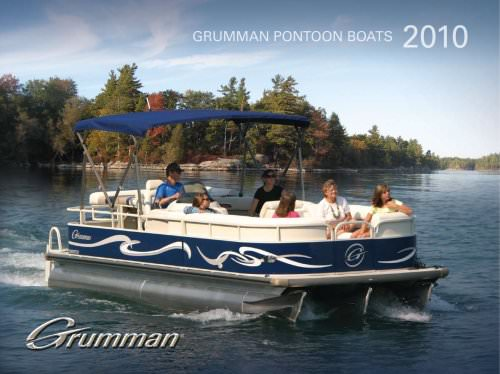 grumman pontoon boats 2010