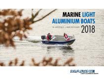 Marine Light Aluminium Boats Catalogue 2018