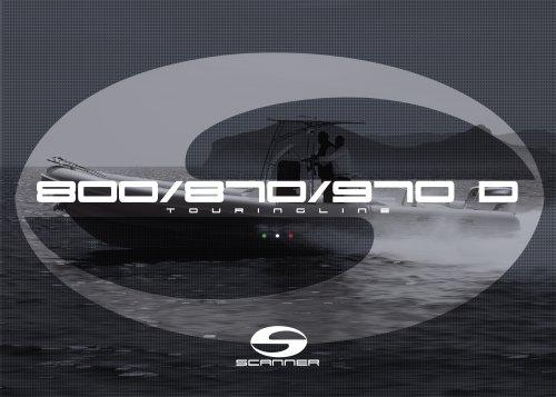 SCANNER 870 D