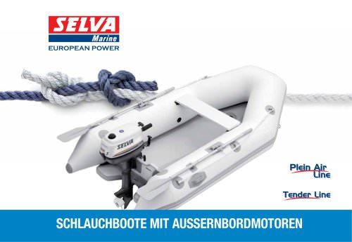 Schlauchboote mit AußEnbordmotoren Kataloge Plein Air Line, Tender Line