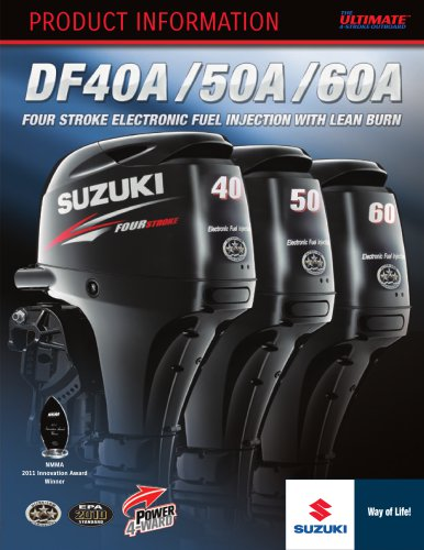 DF40A - DF50A - DF60A
