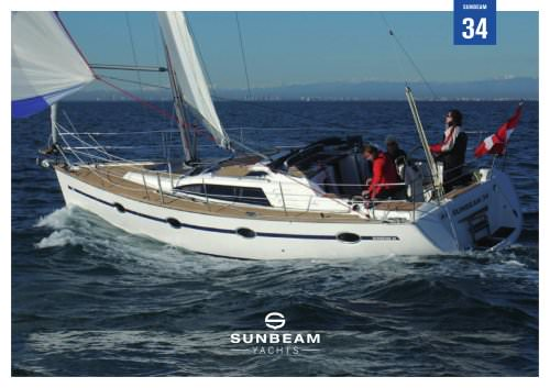 SUNBEAM 34 - PROSPEKT