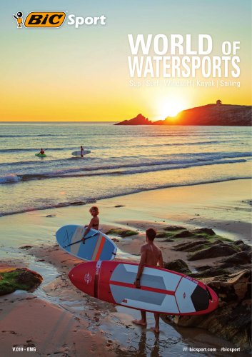 BIC Sport Word of Watersport 2019