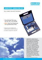 AEROTEST SIMULTAN HP ? Das mobile Atemluft-Testlabor