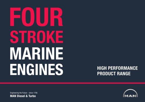 Four-Stroke Marine Engines